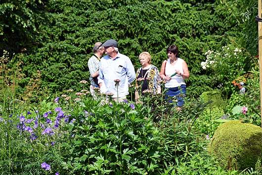 Sfeerbeeld Open tuinen Landelijke Gilden