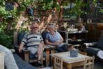 bij Robert en Rita Janssens-Verhuizen in Genk op tuinbezoek
