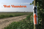 Fietsen, wandelen en zoeken in West-Vlaanderen
