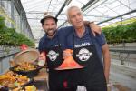 Ivan Kempeneers en Adel Oueslati, halve finalisten van het televisieprogramma 'Grillmasters'