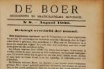 Oud artikel uit De Boer
