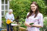 hulp in de tuin
