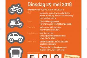 Inspiratieavond Mobiliteit in Noord-Limburg