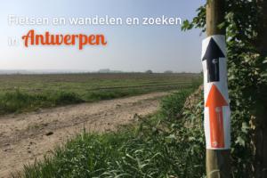 Fietsen, wandelen en zoeken in Antwerpen