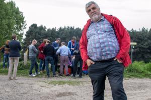 Marc Coppieters tijdens de Verwondertocht in Waasmunster