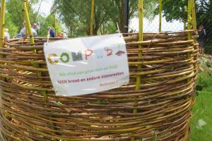 composteren in schooltuin