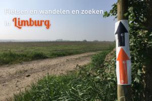 Fietsen, wandelen en zoeken in Limburg