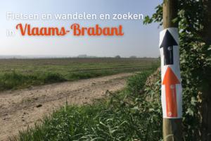 Fietsen, wandelen en zoeken in Vlaams-Brabant
