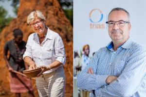 Geertrui Windels in de praatstoel met Jacques van Outryve