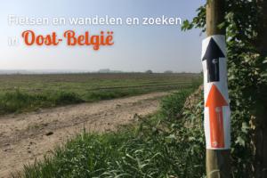 Fietsen, wandelen en zoeken in Oost-België