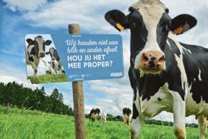 Campagne tegen zwerfvuil op het platteland
