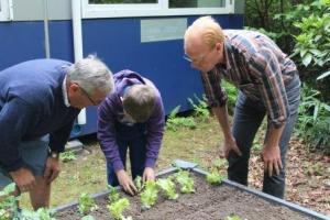 warme tuin Edegem, samen aan de slag