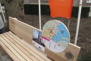 Wandelroute 'Ontdek het Dorp' in Geistingen officieel geopend