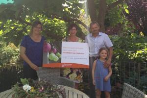De allerleukste g-plek ligt in de tuin van Jos en Annick. Zij winnen een tuinfeest t.w.v. 1000€