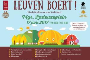 17 juni, Landelijke Gilden op 'Leuven Boert!'