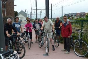 landelijke gilden gewest Asse Dilbeek verkennen fietssnelweg