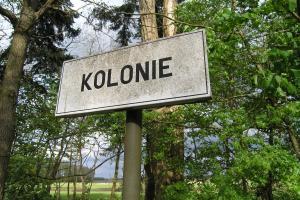 Merksplas kolonie, straatnaambord