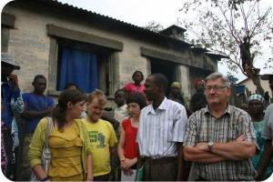 Paul Carion, de secretaris van Landelijke Gilde Herdersem ging in 2012 met Trias mee op inleefreis naar Congo.