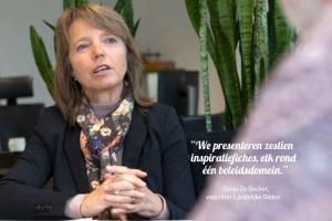 Sonja De Becker over het belang van de gemeenteraadsverkiezingen