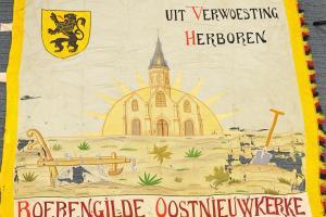 vlag van de Boerengilde van Oostnieuwkerke