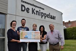 Landelijke Gilde Wervik schenkt 1000€ aan muco-vereniging Roeselare