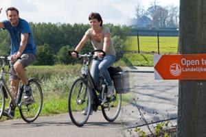 Tuinen bezoeken met de fiets
