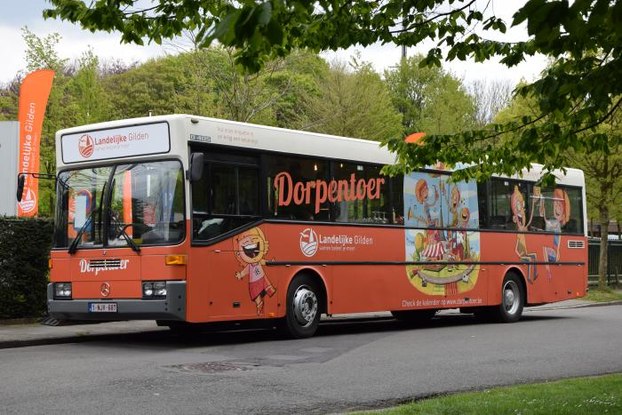Dorpentoerbus in Wondelgem