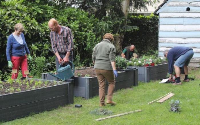 Warme tuin Edegem, samen bezig zijn