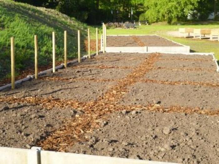 Warme tuin Ocura Beringen, klaar voor de komst van de tuiniers
