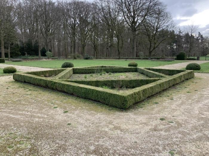 Kasteel Tudor (Brugge), buxusstruiken die opgevolgd worden, SOSbuxusmot