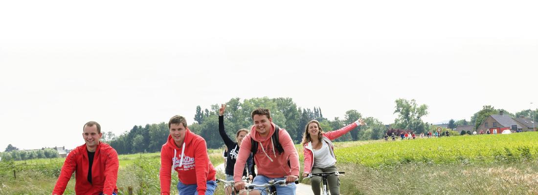 Recreatieve fietstochten